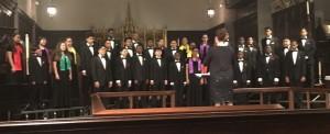 Performing at All Saints Episcopal