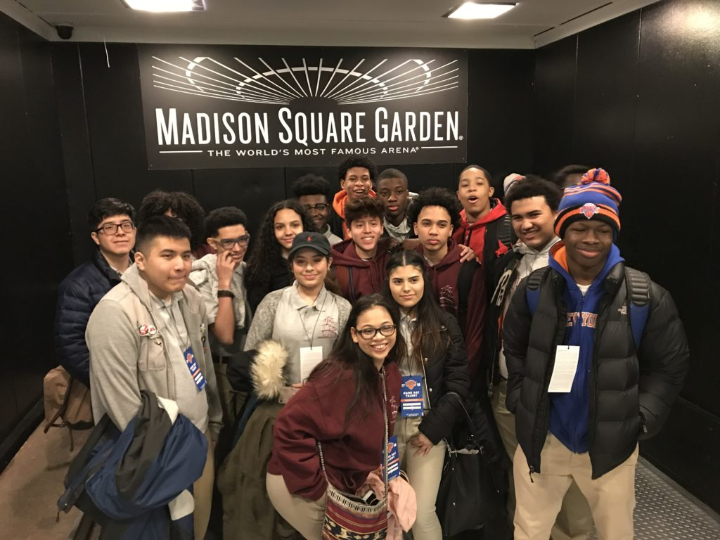 Highbridge Singers at Madison Square Garden - Highbridge Voices