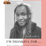 I'm Thankful for…- Ellen